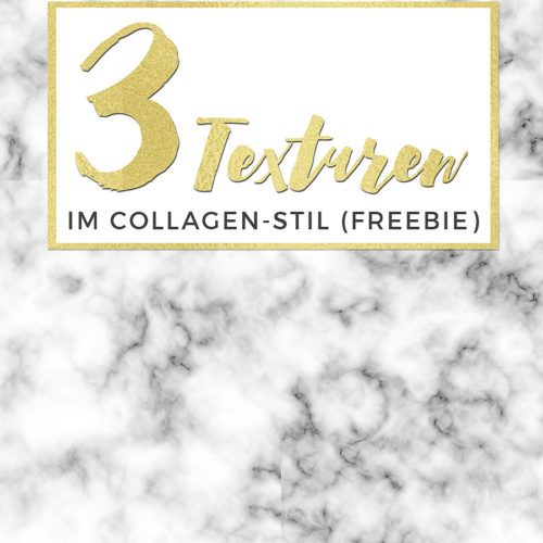 Freebie: 3 Texturen im Collagenstil. designtreasures.de