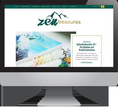 Link zu ZENtreasures.de